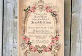 Free Printable Vintage Bridal Shower Invitations Printable Bridal Shower Invitation Custom Printable