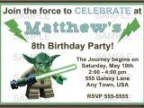 Free Printable Yoda Birthday Invitations 17 Best Images About Jackson S 5th Birthday On Pinterest