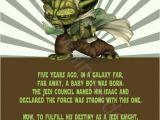 Free Printable Yoda Birthday Invitations Star Wars Yoda Printable Birthday Party Invitation Diy