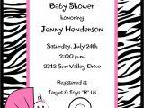 Free Printable Zebra Print Baby Shower Invitations Baby Shower Invitations Zebra Print Baby Shower