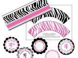 Free Printable Zebra Print Baby Shower Invitations Free Printable Zebra Baby Shower Invitations