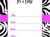 Free Printable Zebra Print Baby Shower Invitations Free Printable Zebra Print Baby Shower Invites