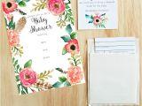 Free Printables Baby Shower Invitations Free Printable Baby Shower Invitations My Fabuless Life