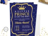 Free Royal Prince Baby Shower Invitation Template Prince Baby Shower Invitation Royal Prince Baby Shower