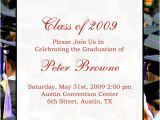Free Sample Of Graduation Invitation Sample Graduation Announcement Wording Homeschool