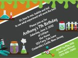 Free Science Birthday Party Invitation Templates Download Free Template Mad Science Birthday Party