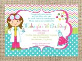 Free Science Birthday Party Invitation Templates Science Party Invitations theruntime Com