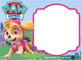 Free Skye Paw Patrol Birthday Invitations Paw Patrol Birthday Invitation Templates – Most Plete