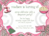 Free Slumber Party Invitations Free Printable Birthday Invitations for Girls Sleepover