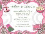 Free Slumber Party Invitations to Print Free Printable Birthday Invitations for Girls Sleepover