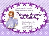 Free sofia the First Birthday Invitations 8 Best Of Free Printable Princess sofia Invitations