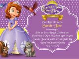 Free sofia the First Birthday Invitations How to Create sofia the First Birthday Invitations Designs