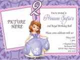 Free sofia the First Birthday Invitations Princess sofia Birthday Invitations Ideas – Bagvania Free