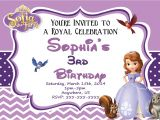 Free sofia the First Birthday Invitations sofia Birthday Party Invitations Templates