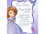 Free sofia the First Birthday Invitations sofia the First Birthday Invitation