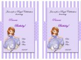 Free sofia the First Birthday Invitations sofia the First Birthday Invitations – Birthday Printable