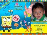 Free Spongebob Party Invitation Templates Spongebob Birthday Invitations Ideas Bagvania Free