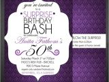 Free Surprise 50th Birthday Party Invitations Templates 15 Surprise Birthday Invitations Free Psd Vector Eps