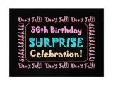 Free Surprise 50th Birthday Party Invitations Templates 50th Birthday Surprise Party Invitations Free Invitation