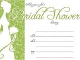 Free Template for Bridal Shower Invitation Bridal Shower Invitations Easyday