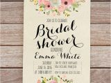 Free Template for Bridal Shower Invitation Wedding Shower Invitation Templates