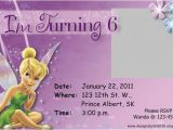 Free Tinkerbell Printable Birthday Invitations Tinkerbell Birthday Invitation Free