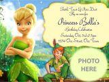 Free Tinkerbell Printable Birthday Invitations Tinkerbell Invitation Digital File