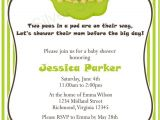 Free Two Peas In A Pod Baby Shower Invitations Items Similar to Two Peas In A Pod Custom Baby Shower