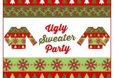 Free Ugly Sweater Party Invites Free Ugly Sweater Party Printables