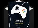 Free Video Game Birthday Invitation Template Free Game Controller Invitations In 2019 Boy Birthday