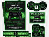 Free Video Game Birthday Invitation Template Video Game Birthday Party Invitations Video Game Invitations