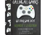 Free Video Game Birthday Invitation Template Video Game Birthday Party Invitations Zazzle Com