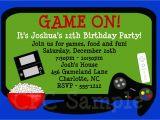 Free Video Game Birthday Invitation Template Video Games Birthday Invitation Tuck 39 S Birthday In 2019