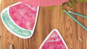 Free Watermelon Birthday Invitations Download A Free Printable Watermelon Party Invitation