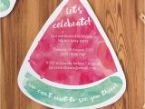 Free Watermelon Birthday Invitations Free Printable Watermelon Party Invites