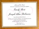 Free Wedding Invitation Samples by Mail Free Wedding Invitation Samples