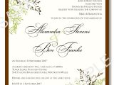 Free Wedding Invite Samples Wedding Invitation Templates 03