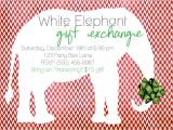 Free White Elephant Party Invitation Template 7 Best Images Of Holiday Party Flyer Template Office