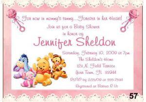 Free Winnie the Pooh Baby Shower Invitations 20 Baby Winnie the Pooh Baby Shower Invitations