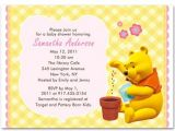 Free Winnie the Pooh Baby Shower Invitations Winnie the Pooh Baby Girl Shower Invitations Bs104