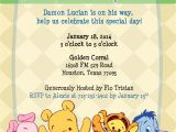 Free Winnie the Pooh Baby Shower Invitations Winnie the Pooh Baby Shower Invitation