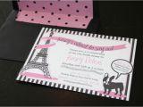 French Bridal Shower Invitation Wording Bridal Shower French theme