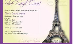 French Bridal Shower Invitation Wording Bridal Shower Invitations Bridal Shower Invitations
