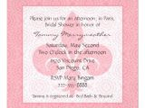 French Inspired Bridal Shower Invitations French Inspired Bridal Shower Invitation Zazzle