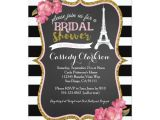 French Inspired Bridal Shower Invitations French Paris Bridal Shower Invitation Zazzle Com