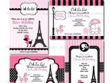 French Party Invitation Templates 112 Best Images About Nathalie 39 S 8th Quot Birthday In Paris
