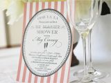 French themed Bridal Shower Invitations Baby Shower French theme and Baptism Announcements