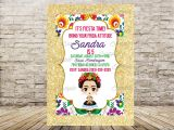 Frida Kahlo Party Invitations Frida Kahlo Invitation