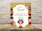 Frida Kahlo Party Invitations Frida Kahlo Invitations Frida Invitations Fridita