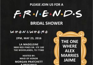 Friends themed Party Invitations Friends theme Invitation by Graphicsbyjen1 On Etsy